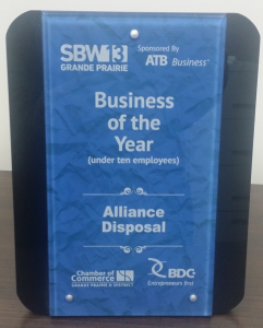 sba alliance disposal